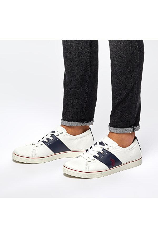 U.S. Polo Assn. U.S Polo Assn. CEREZO Beyaz Erkek Sneaker