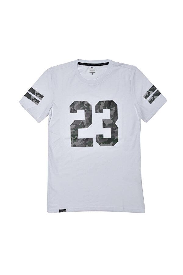 Lumberjack BLACK T-SHIRT Beyaz Erkek T-Shirt