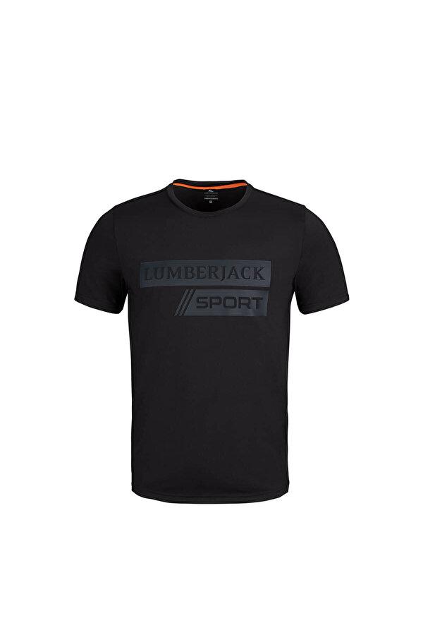 Lumberjack MILAN T-SHIRT Siyah Erkek T-Shirt