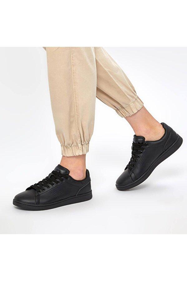 Kinetix PLAIN W Siyah Kadın Sneaker