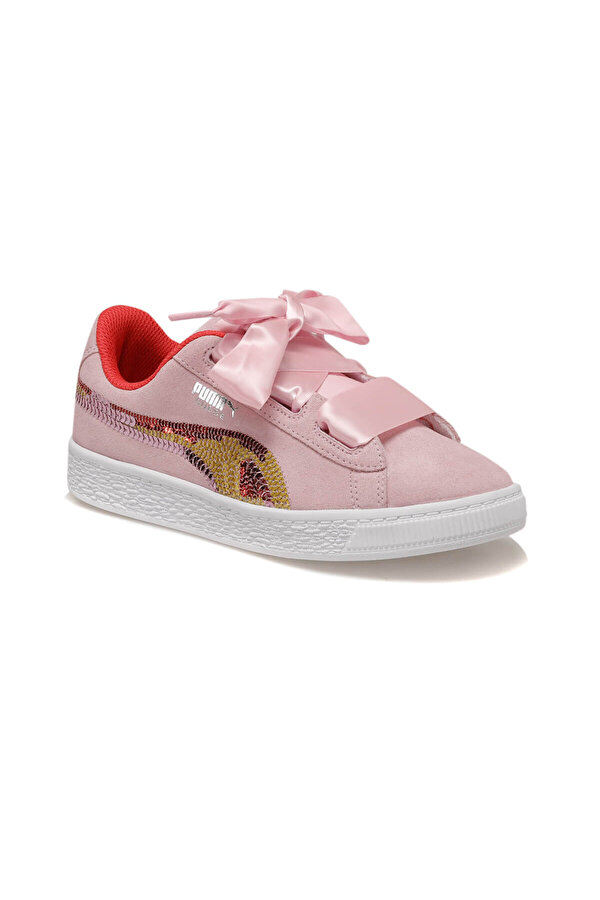 Puma SUEDE HRT TRAILBLAZER SQN Pembe Kız Çocuk Sneaker