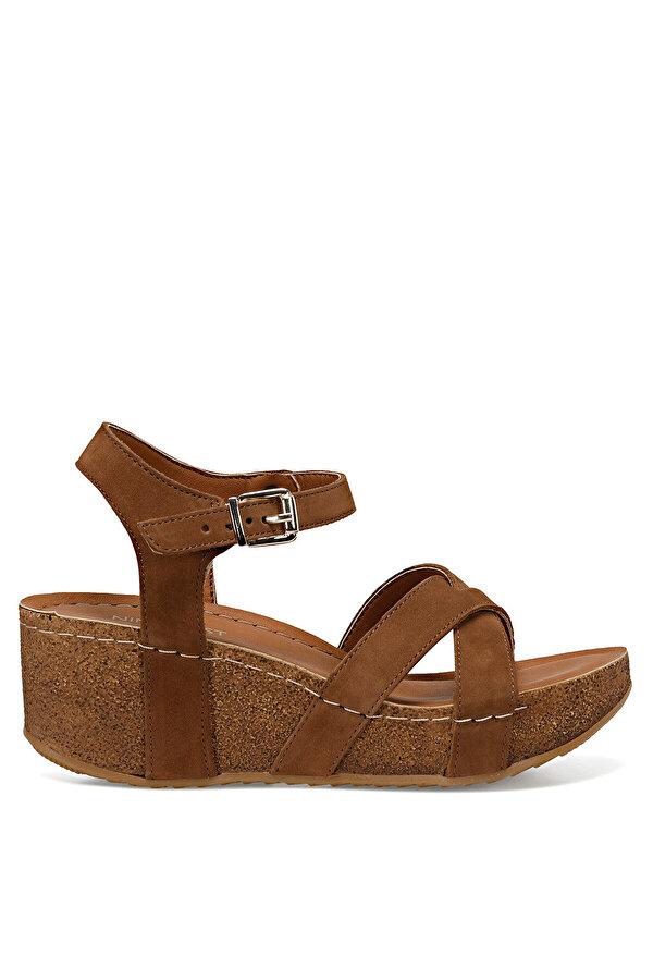 Nine West GOYARD Taba Kadın Dolgu Topuklu Sandalet