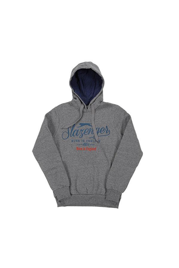 Slazenger ST28WE037-400 Lacivert Erkek Sweatshirt