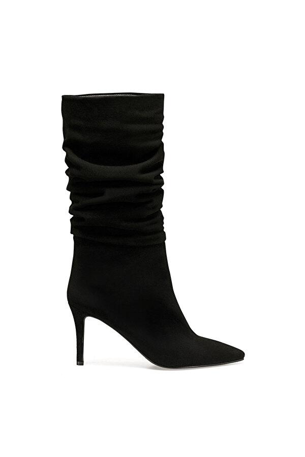 Nine West MOLLY Siyah Kadın Topuklu Çizme