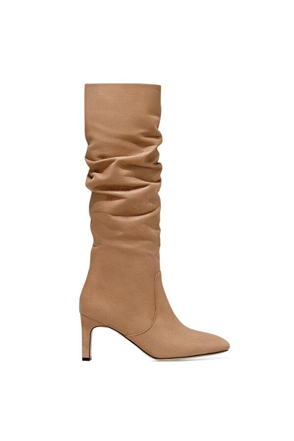 Nine West CAMOSA Vizon Kadın Topuklu Çizme