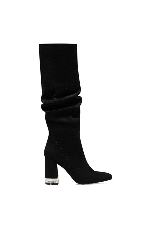 Nine West MIRANI Siyah Kadın Topuklu Çizme