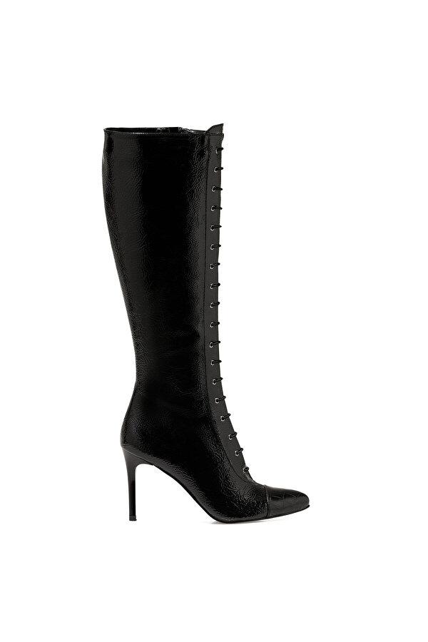 Nine West PIPPA2 Siyah Kadın Topuklu Çizme