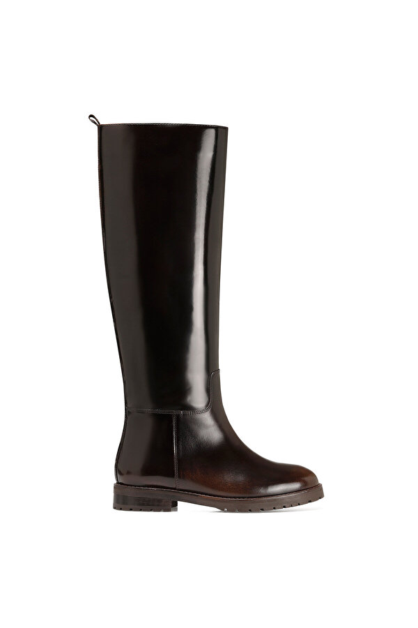 Nine West BEGMO Kahverengi Kadın Düz Çizme
