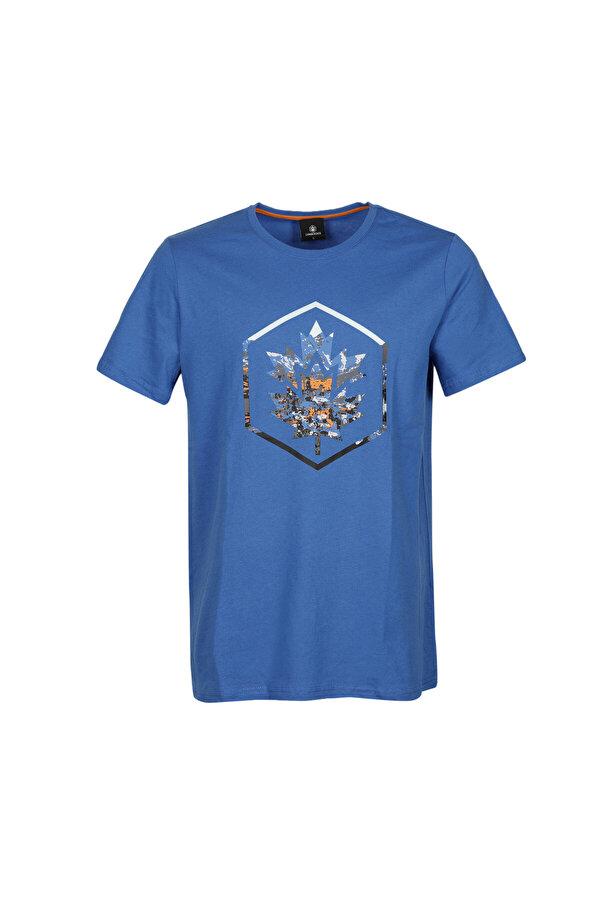 Lumberjack CT636 COLORED LOGO T-SHIR Saks Erkek Kısa Kol T-Shirt