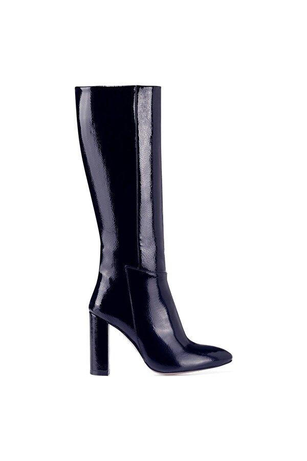 Nine West MIMA Lacivert Kadın Topuklu Çizme