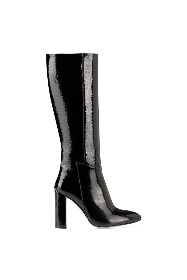 Nine West MIMA Siyah Kadın Topuklu Çizme