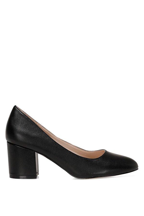 Nine West ULISEN 1FX Siyah Kadın Kısa Topuklu Ayakkabı