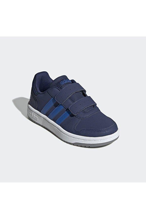 Adidas HOOPS 2.0 CMF Lacivert Erkek Çocuk Sneaker Ayakkabı