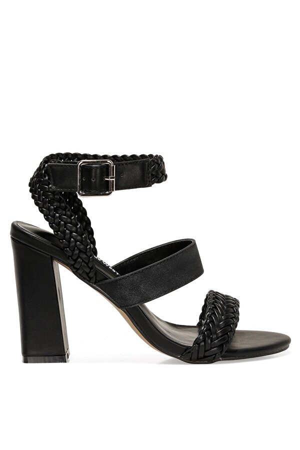 Nine West BAILEY 1FX Siyah Kadın Topuklu Sandalet