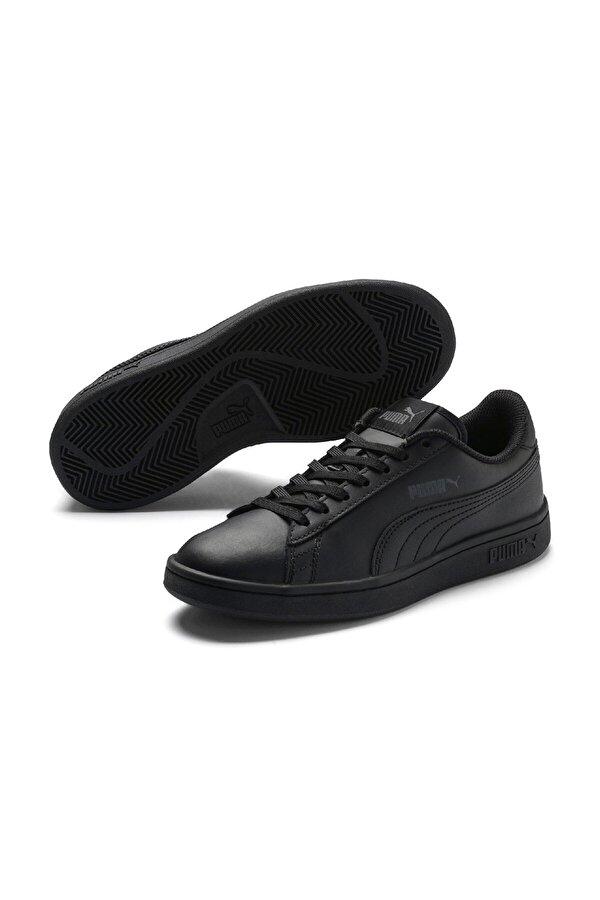 Puma SMASH V2 L JR Siyah Erkek Çocuk Sneaker
