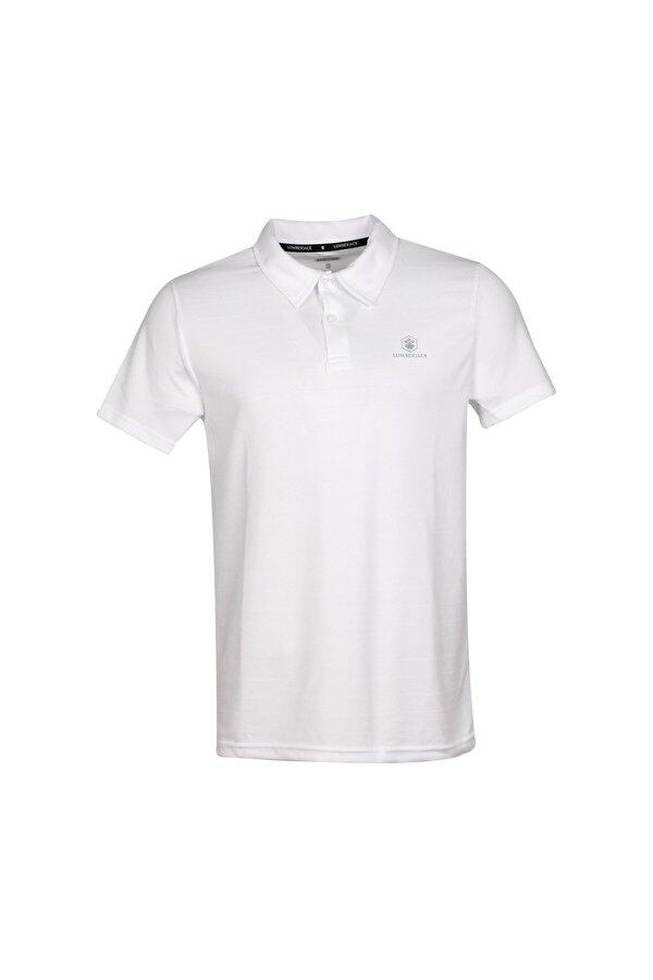 Lumberjack CT461 SHERMAN POLO T-SHIR Beyaz Erkek Kısa Kol T-Shirt