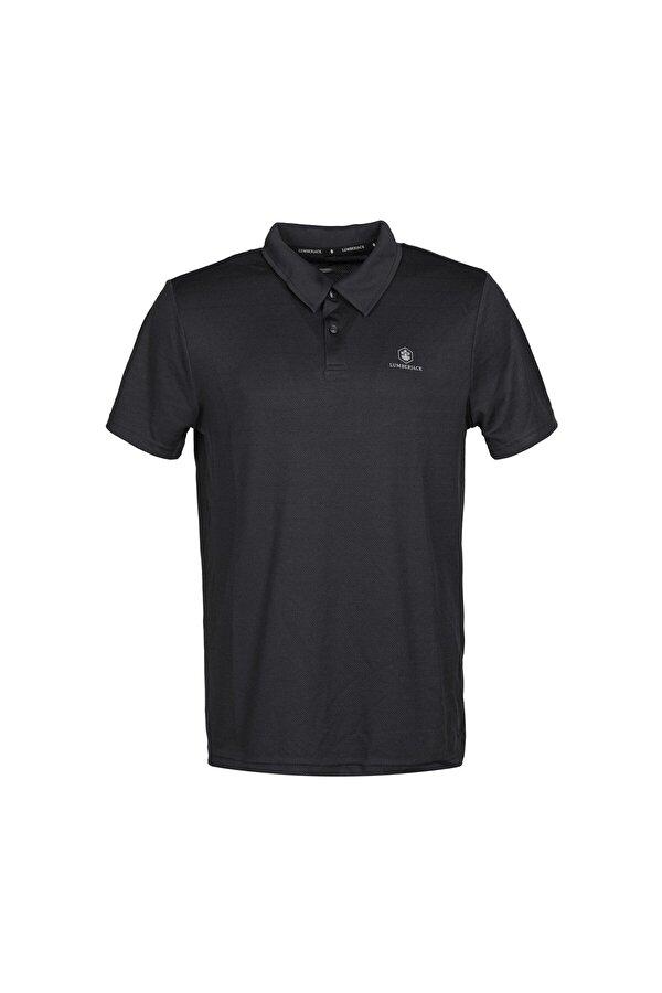 Lumberjack CT461 SHERMAN POLO T-SHIR Siyah Erkek Kısa Kol T-Shirt