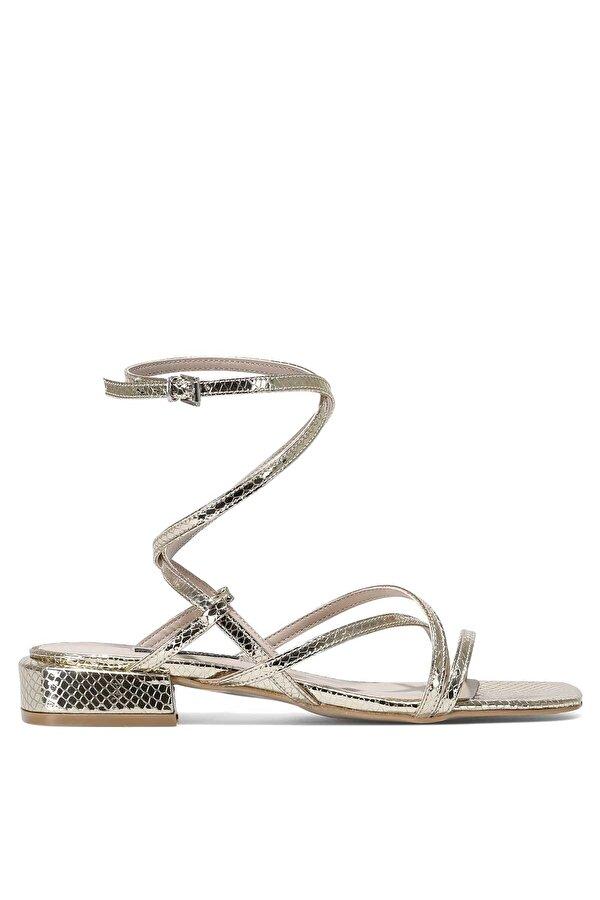 Nine West MEOLI 1FX Altın Kadın Topuklu Sandalet