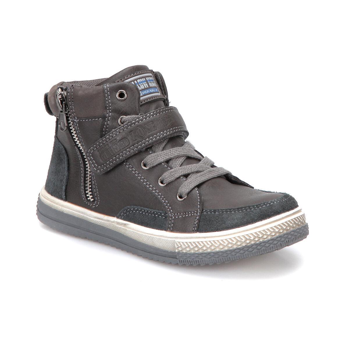 GRI Erkek Çocuk Sneaker Ayakkabı 171-033