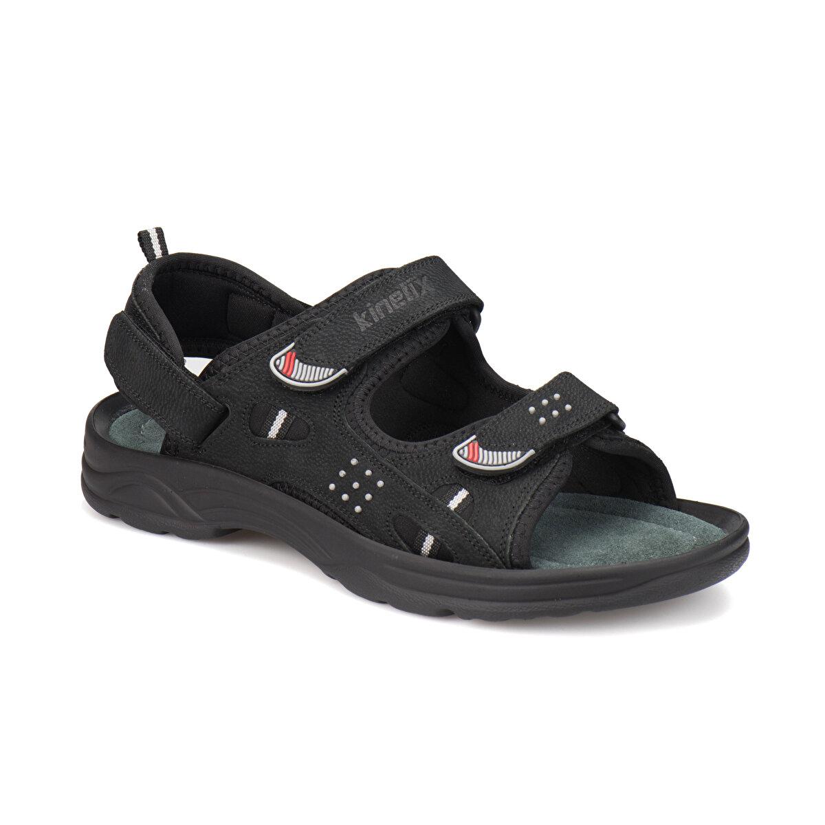 SIYAH Erkek Sandalet LUTHER