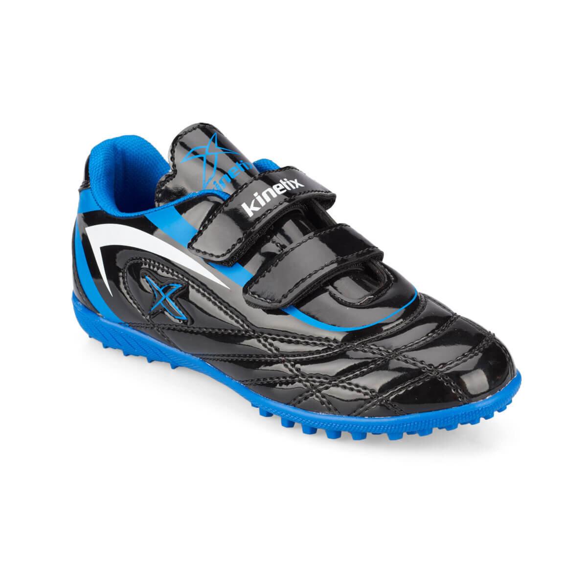 SIYAH Erkek Çocuk Halı Saha Ayakkabısı SERGE TURF