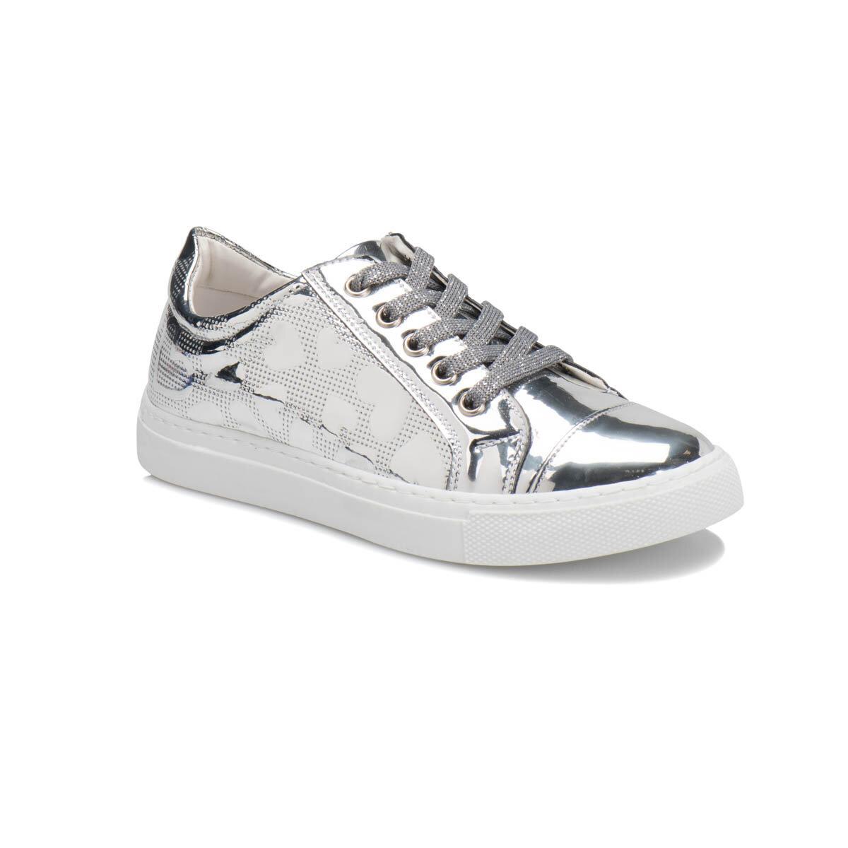 Gümüş Kız Çocuk Sneaker Ayakkabı PARY