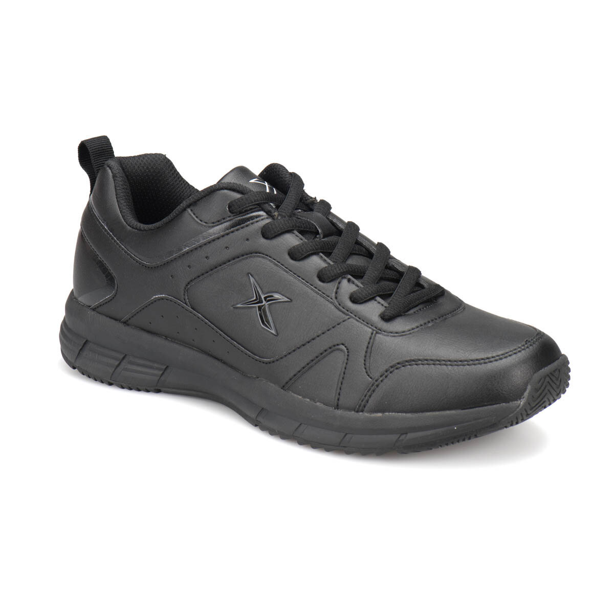 SIYAH Erkek Fitness Ayakkabısı ROBUS PU