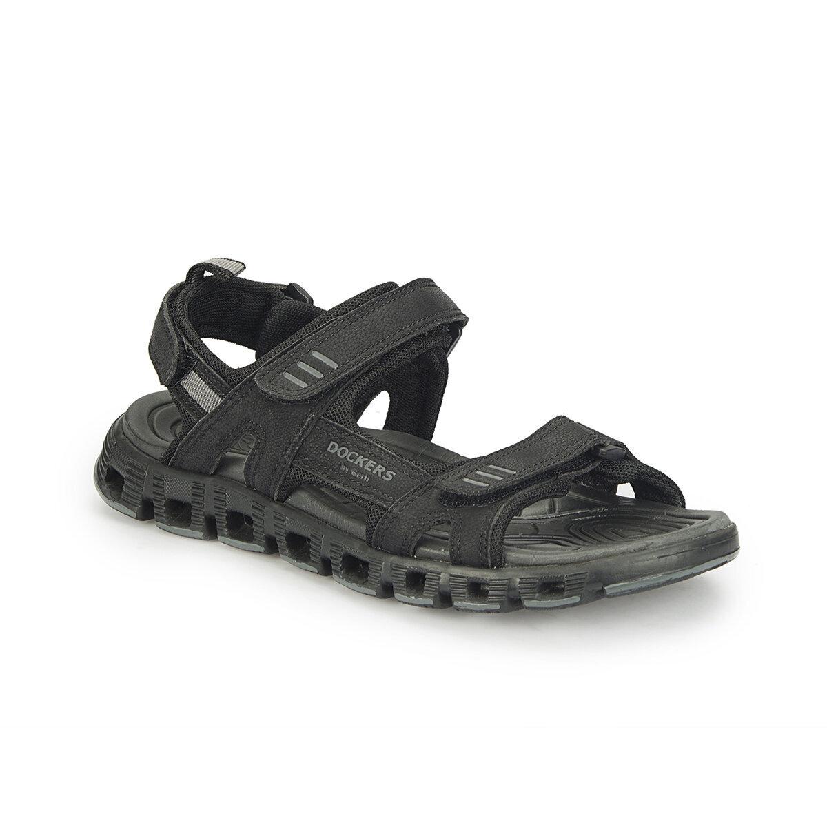 SIYAH Erkek Sandalet