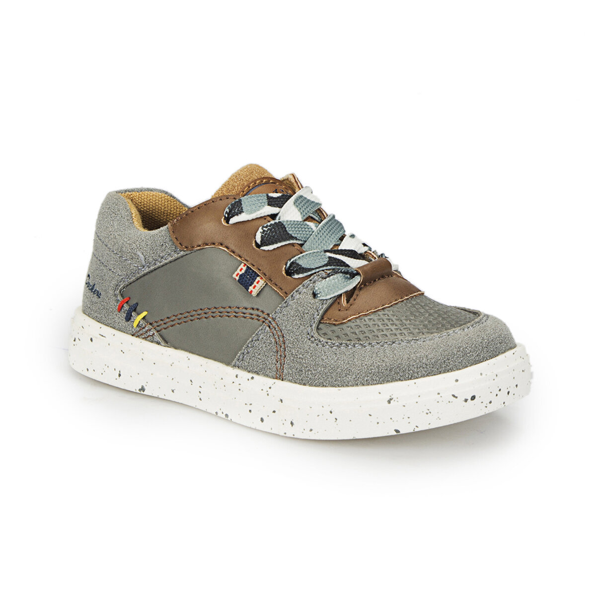 GRI Erkek Çocuk Sneaker Ayakkabı