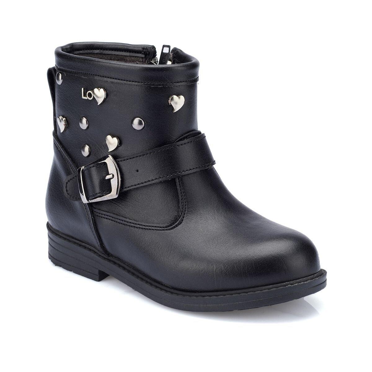 SIYAH Kız Çocuk Ayakkabı