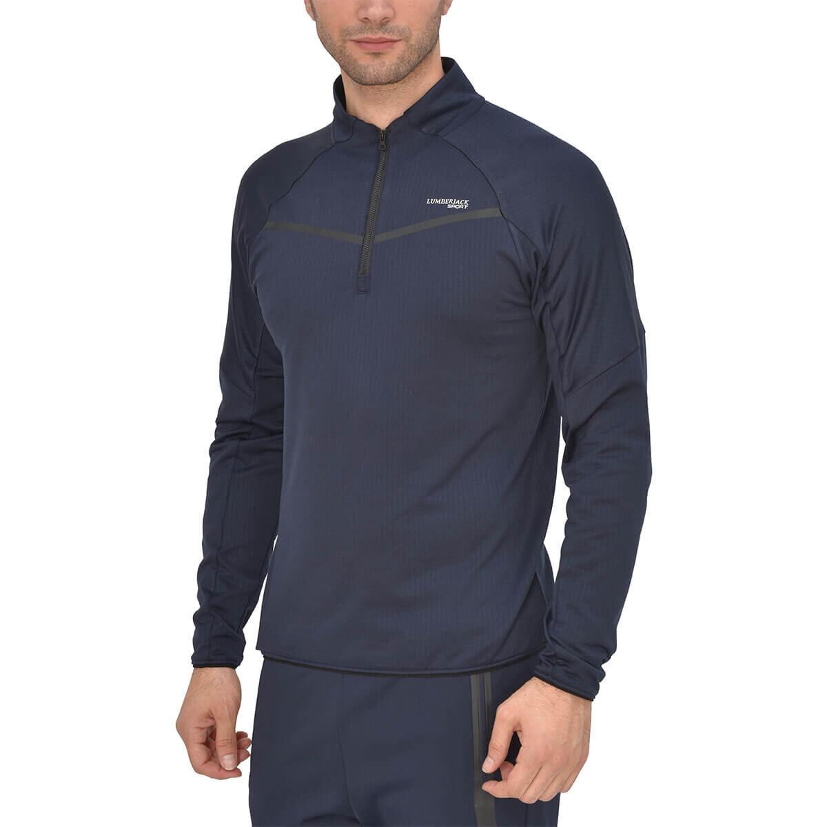 Lacivert Erkek Sweatshirt VOLKER SWEAT