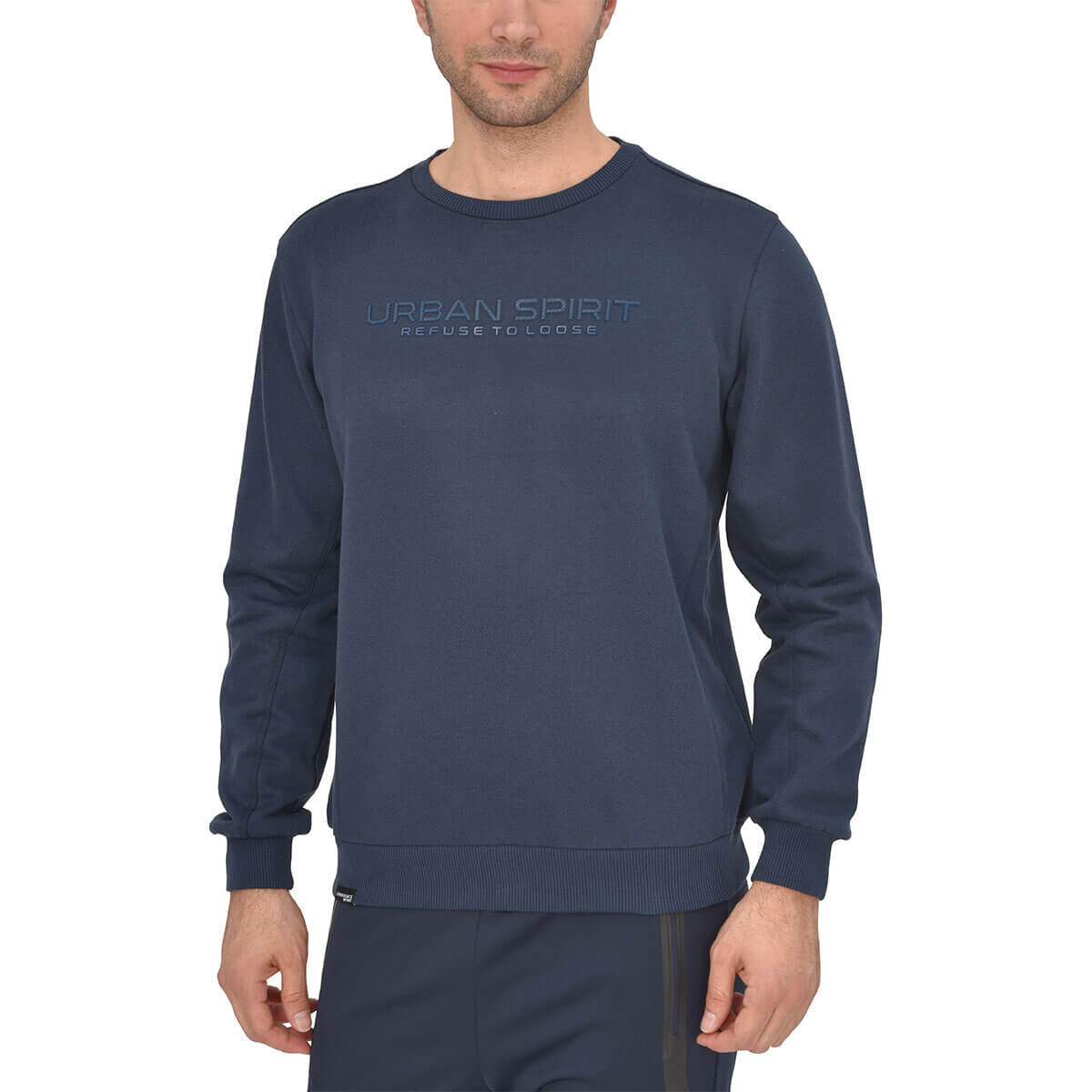 Lacivert Erkek Sweatshirt HILL SWEAT