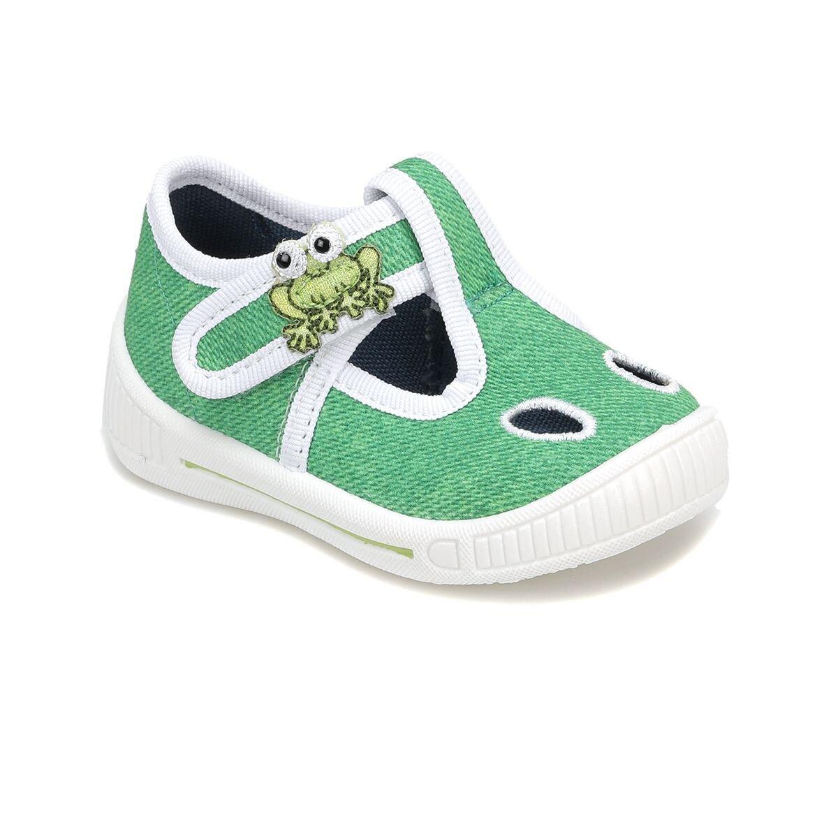 Yeşil Erkek Çocuk Ayakkabı 8-00264-09 BE