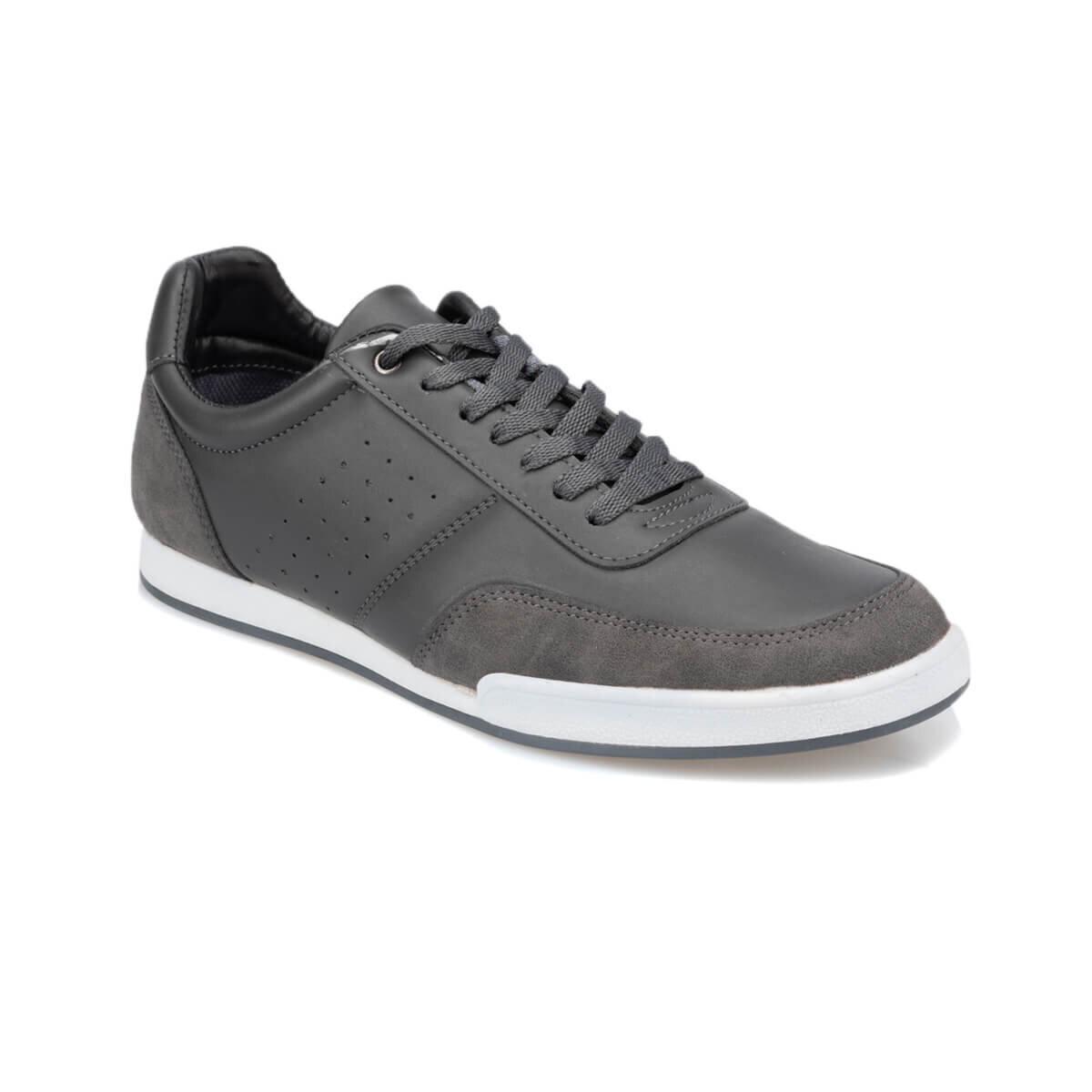 GRI Erkek Klasik Ayakkabı