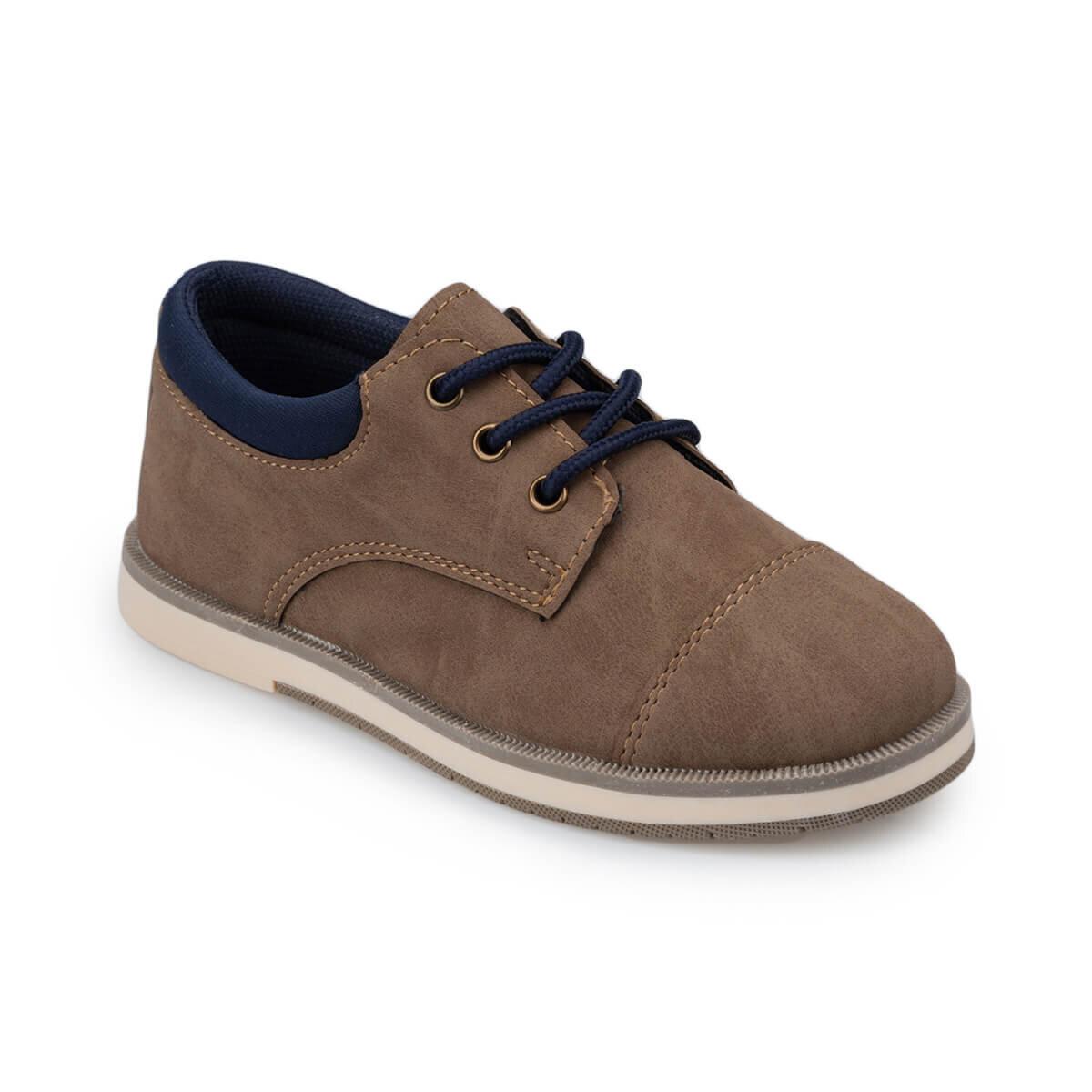 Kum Rengi Erkek Çocuk Ayakkabı