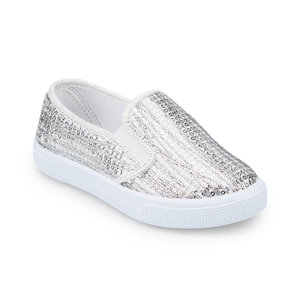 GRI Kız Çocuk Ayakkabı