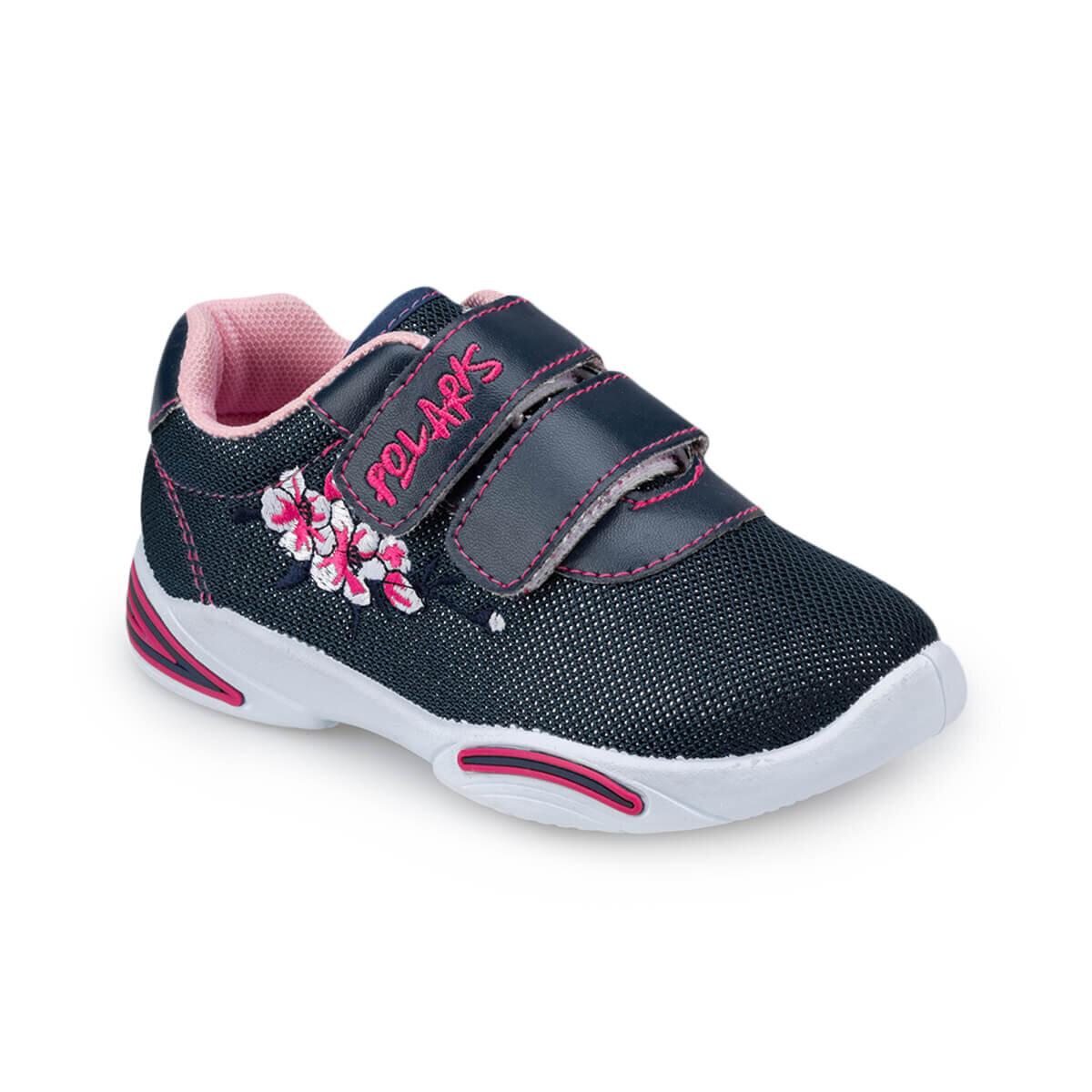 Lacivert Kız Çocuk Ayakkabı
