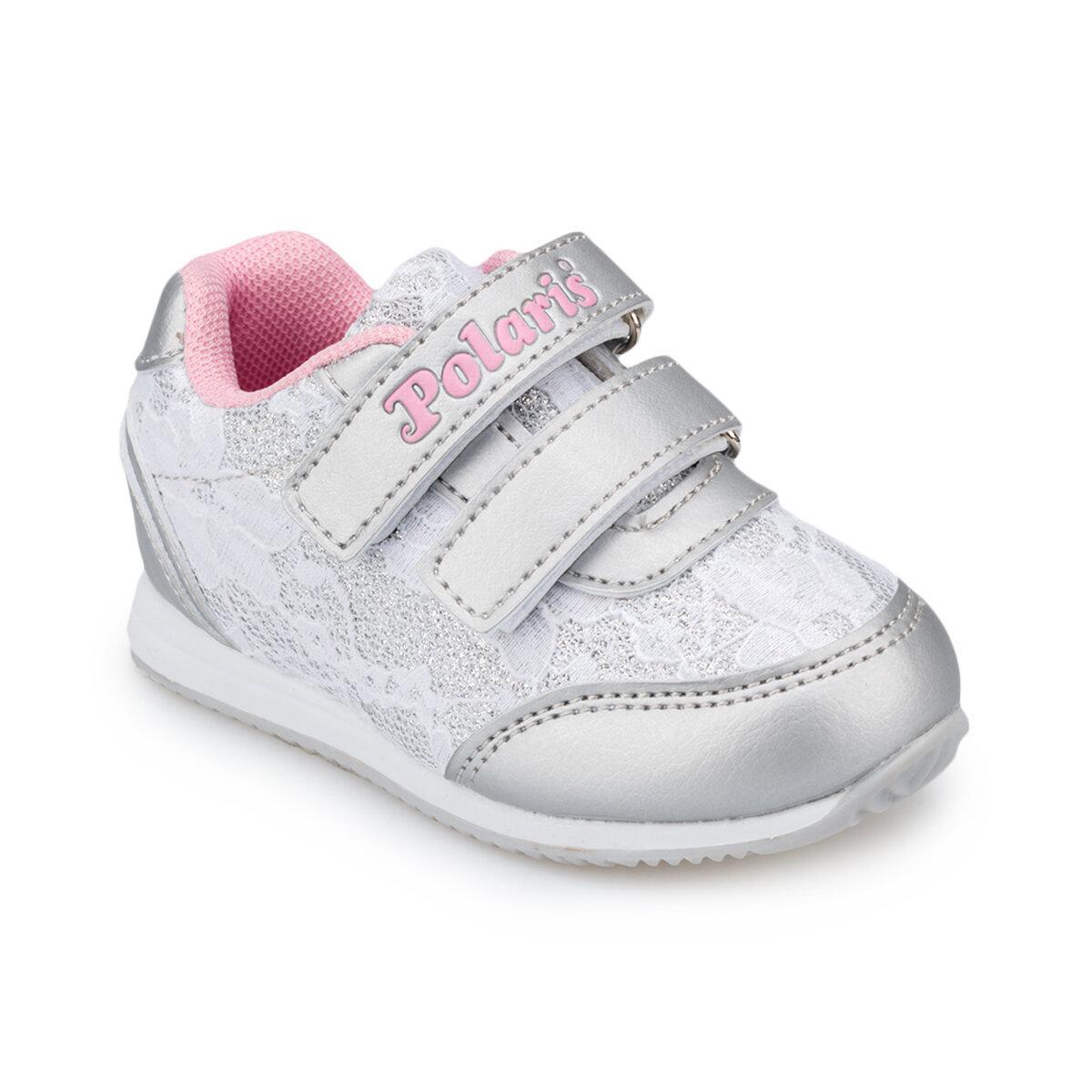 Gümüş Kız Çocuk Ayakkabı