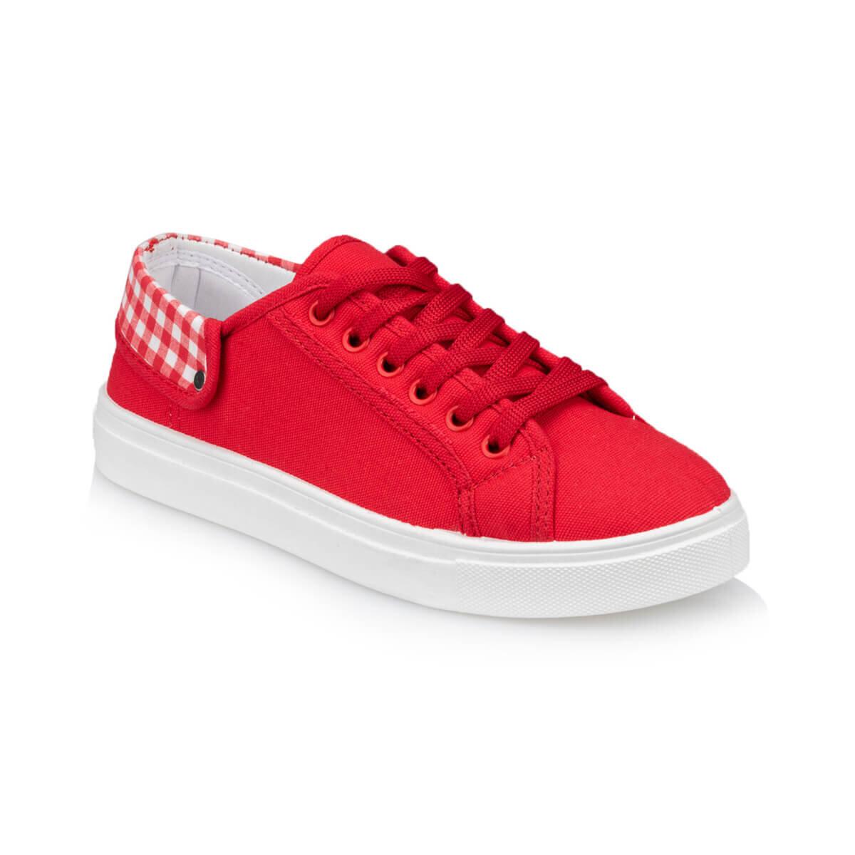 Kırmızı Kadın Sneaker Ayakkabı