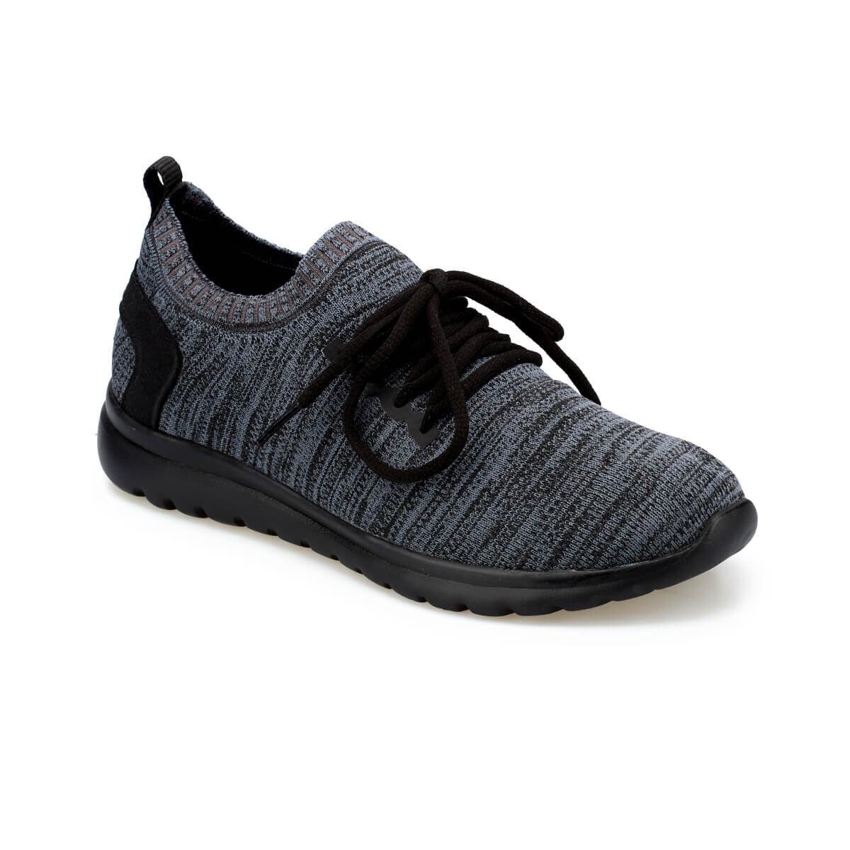 Koyu Gri Erkek Fitness Ayakkabısı NITO