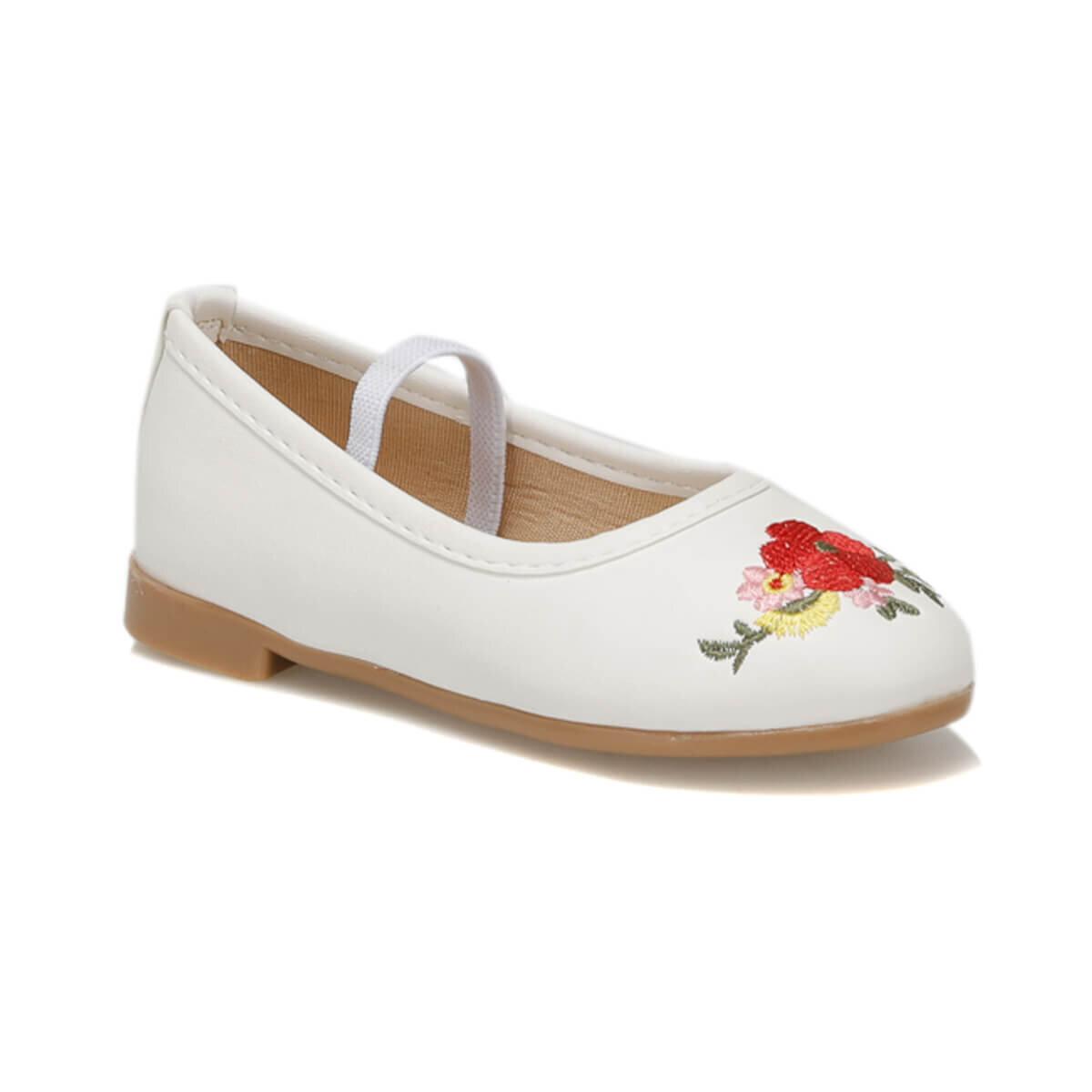 BEYAZ Kız Çocuk Basic Casual Ayakkabı SIMI
