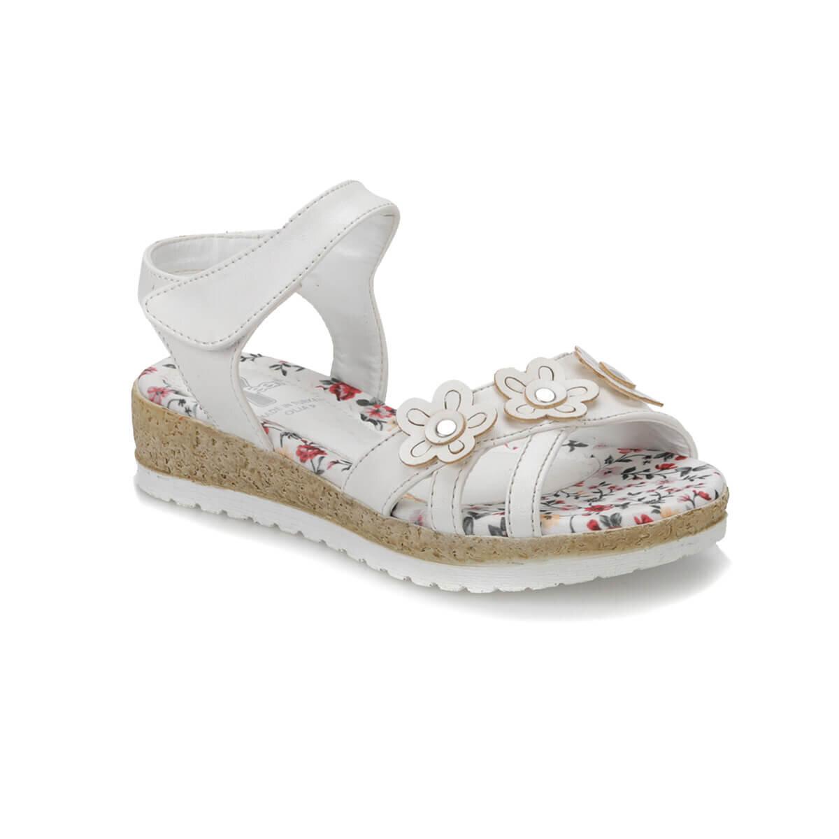 BEYAZ Kız Çocuk Basic Casual Ayakkabı OLIA P