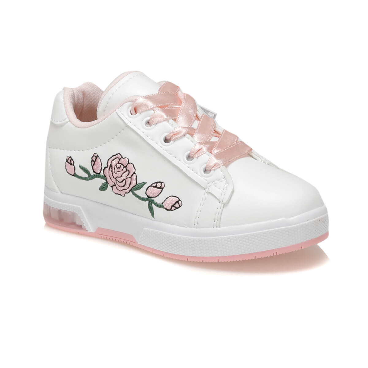 BEYAZ Kız Çocuk Sneaker Ayakkabı FLOWER-N