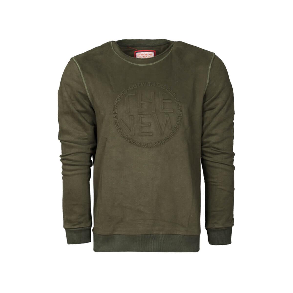 Haki Erkek Sweatshirt 85015 SW