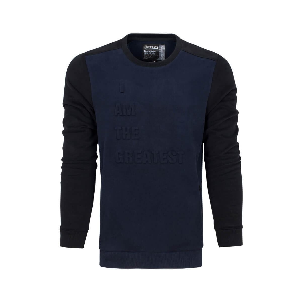 Lacivert Erkek Sweatshirt 85312 SW