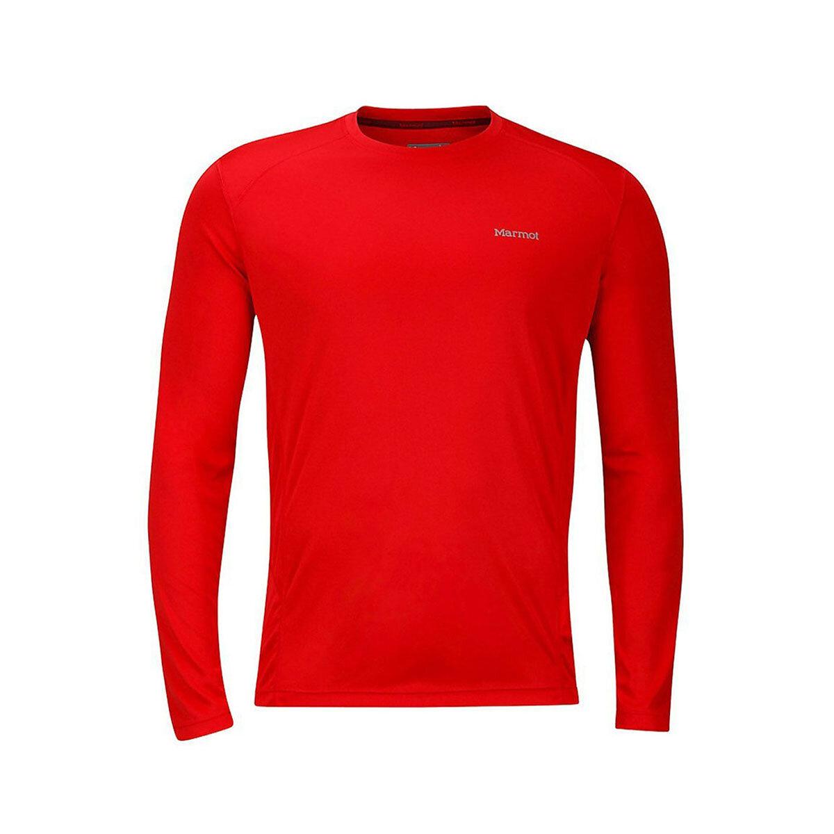 MARMOT Kırmızı Erkek Sweatshirt WINDRIDGE