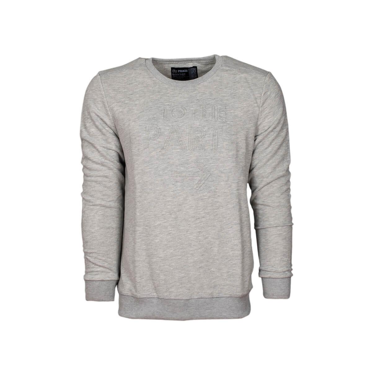 Gri Mel Erkek Sweatshirt 85310