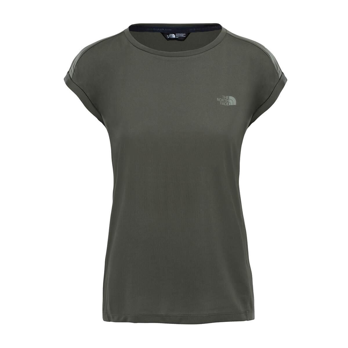 THE NORTH FACE Yeşil Kadın Kısa Kol T-Shirt T92S7FHCJ
