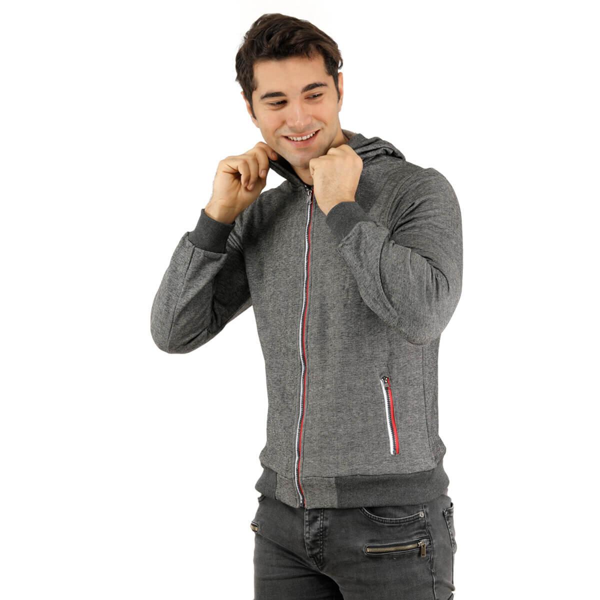 SIYAH Erkek Sweatshirt 5207