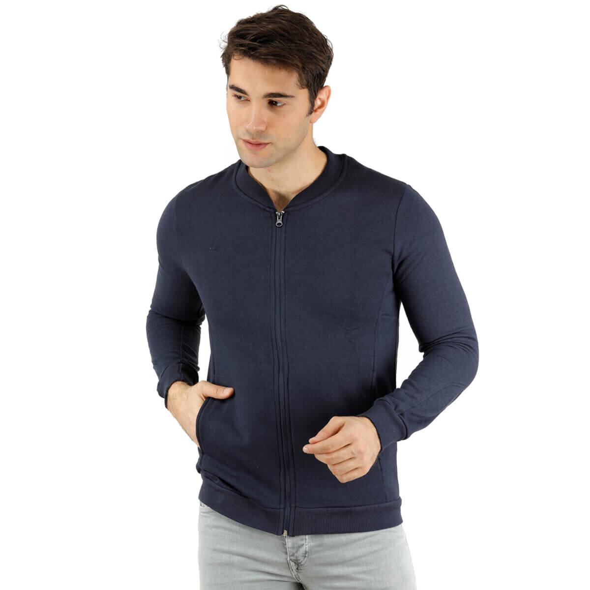 Lacivert Erkek Sweatshirt 85120
